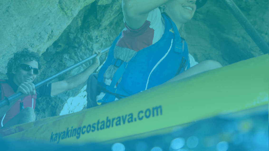 Web kayaking Costa Brava | Ideamatic